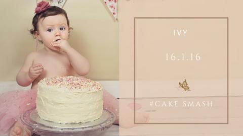 Ivy(#cakesmash)