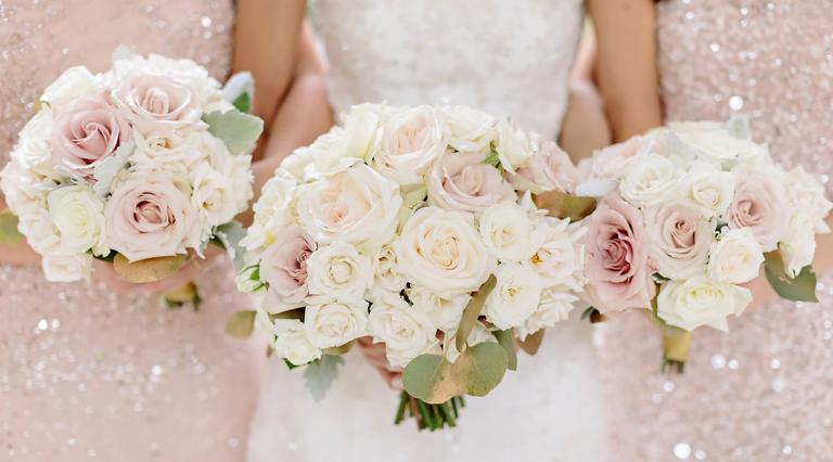 blog image of wedding flowers